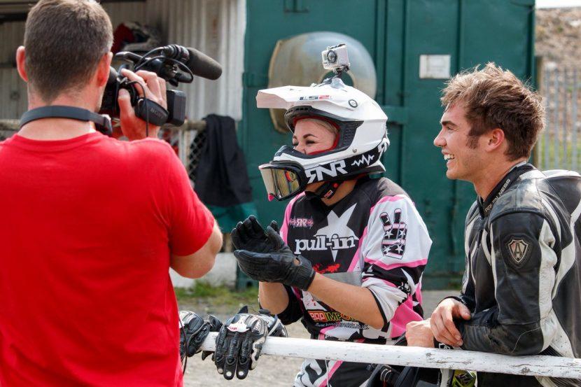 Sopohie and Luek from Bikeworld TV
